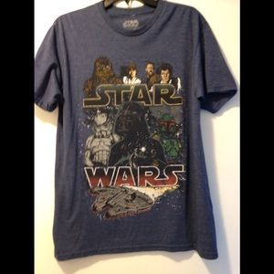 Star Wars tee - adult medium